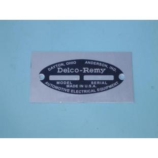 Plaqueta Gerador Delco-Remy 38 à 54