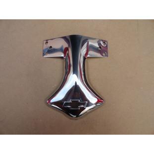 Ponteira Defletor do Escapamento Logo Chevrolet Inox Novo