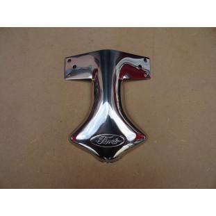 Ponteira Defletor do Escapamento Logo Ford Inox Novo