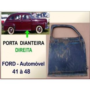 Porta Dianteira Ford 41 à 48 Passeio 4 Portas Usada Original