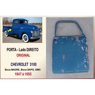 Porta Original Chevrolet 3100 52 à 55 Sapo Bagre GMC Direito