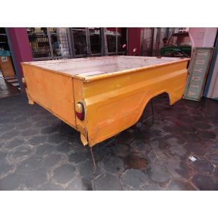Caçamba Carroceria Toyota Bandeirante até 1989 Cabine Simples em Lata