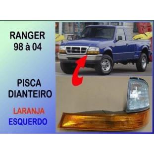 Ranger 98 à 04 - Pisca Dianteiro Laranja Esquerdo