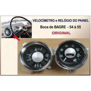 Velocímetro e Relógio Painel Bagre 54 à 55 Original