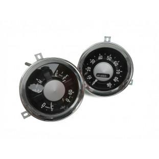 Velocímetro Marcador Relógio Painel Boca Bagre 1954 e 1955 Novo