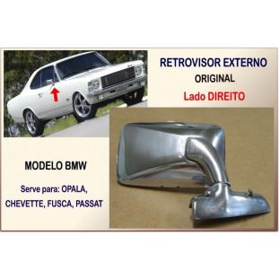Retrovisor Externo Modelo BMW Direito Único
