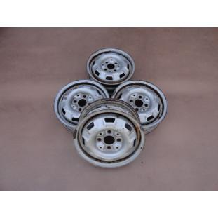 Roda Passat Ferro Aro 13 Tala 4,5 Original Usada Jogo