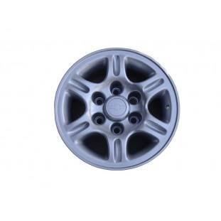Roda Silverado DLX 97 à 98 Aro 15 Tala 7 Com Calota Original Usado