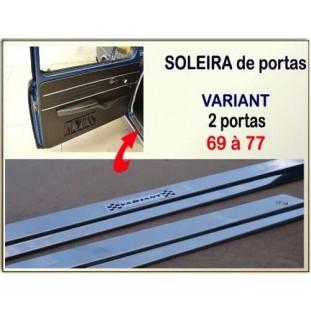 Soleira Porta Variant I e TL 69 à 77 Alumínio - Par