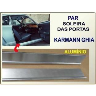 Soleira Porta Karmann Ghia Alumínio - Par