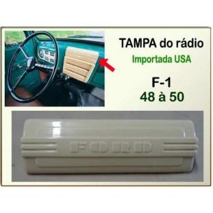 Tampa Rádio F-1 48 à 50 Importado