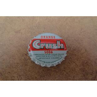 Tampinha Garrafa Refrigerante Crush Original Americana