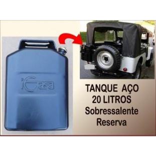 Tanque Combustível Jeep 20 Litros Sobressalente Reserva