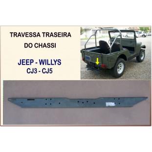 Travessa Traseira Chassi Jeep CJ3 CJ5 Willys