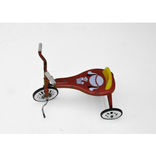 Triciclo Infantil Antigo Bandeirante Pequeno Urso Cachorro Balão Original Usado