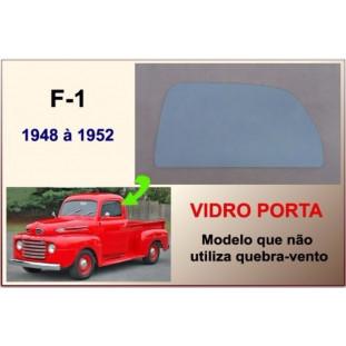 Vidro da Porta F-1 48 à 52 Modelo não Utiliza Quebra Vento Verde