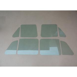 Vidro Quebra Vento Porta Vw 1600 Zé Caixão Verde Novo - Jogo