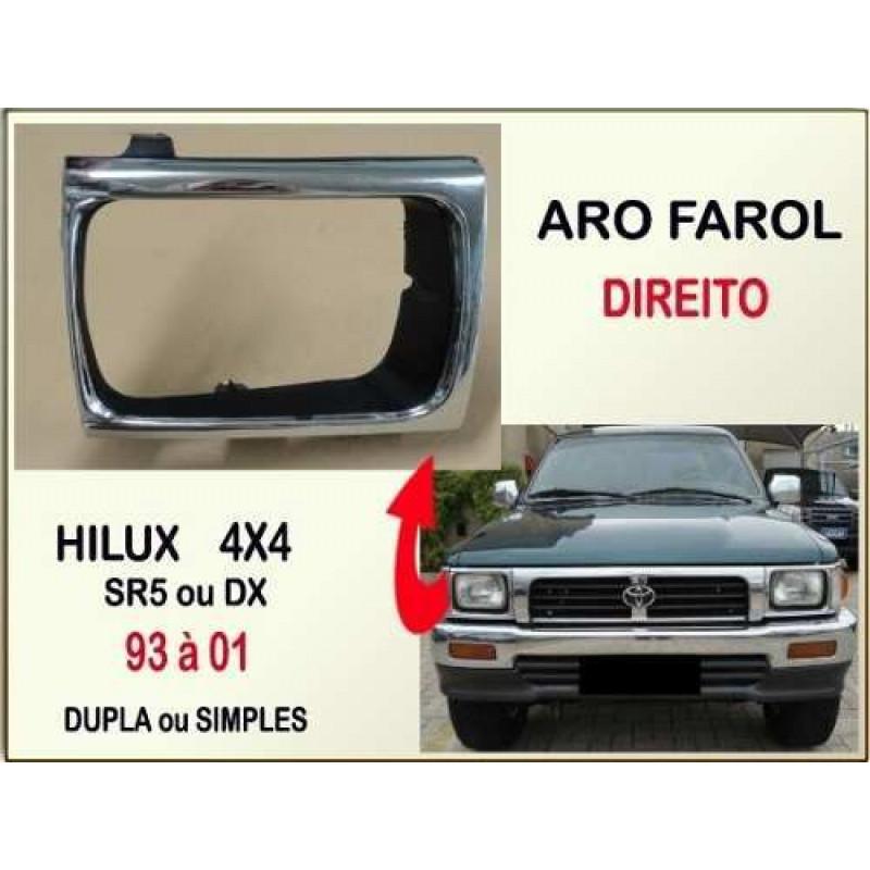 Aro Farol Hilux 4X4 SR5, DX 93 à 01 Direito