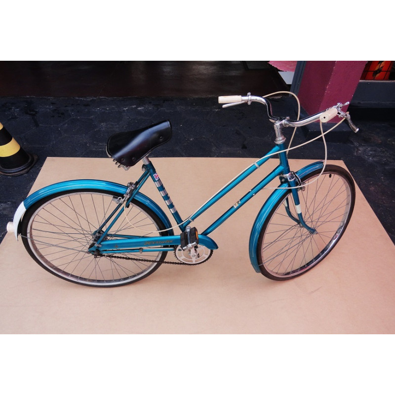 Bicicleta Antiga AMF Hercules Cruiser Inglesa Feminina 26'' Década 60 Original