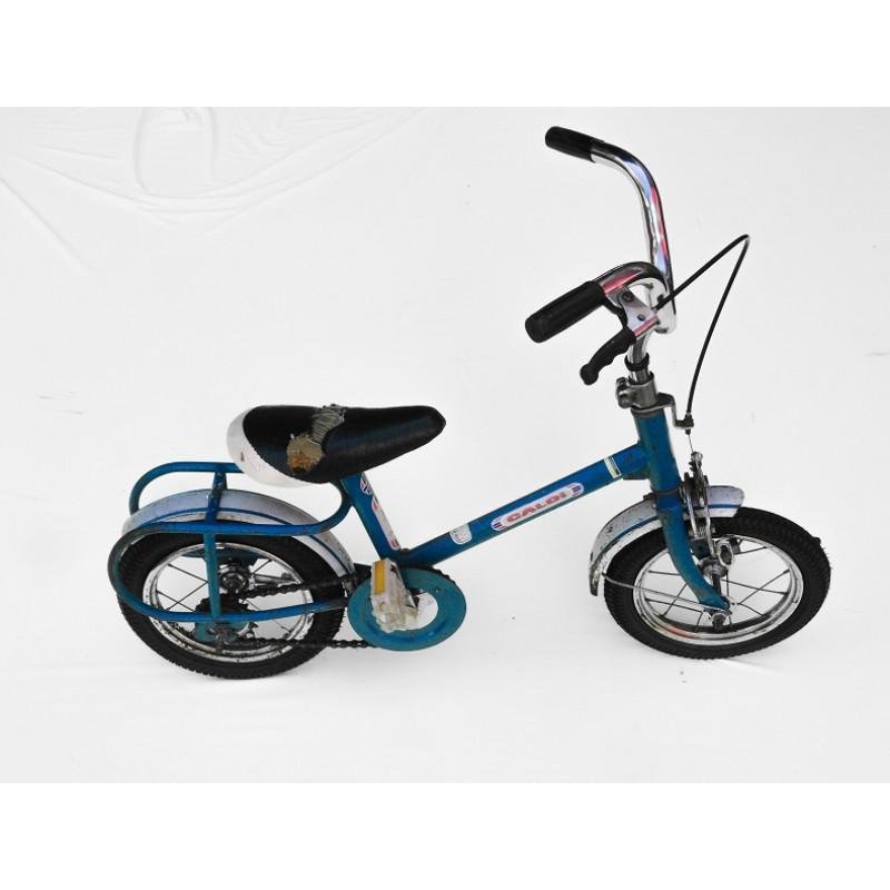Bicicleta Antiga Caloi Totica Aro 10 Azul Original Usada
