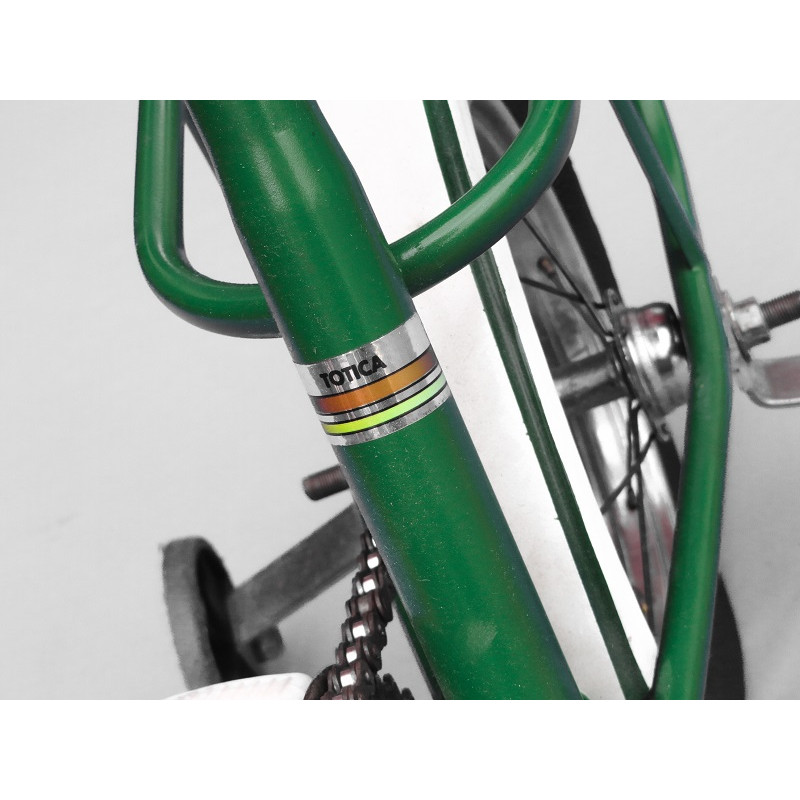 Bicicleta Antiga Caloi Totica Aro 10 Verde Original Usada