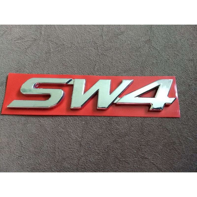 Emblema Hilux SW4 TOYOTA 2005 A 2016 Cromado