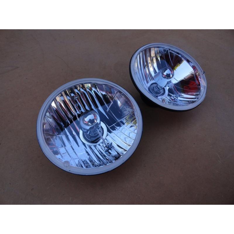 Farol Tipo Sealed Beam Importado 7 Pol Par