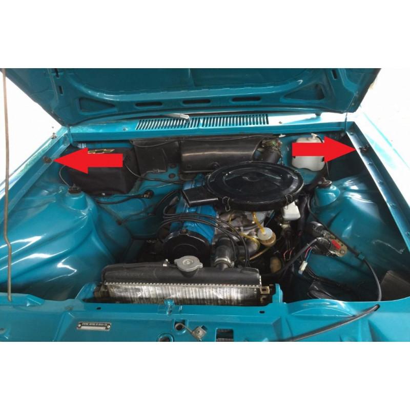 Calço do Capô Chevette 1973 à 1994 - Jogo