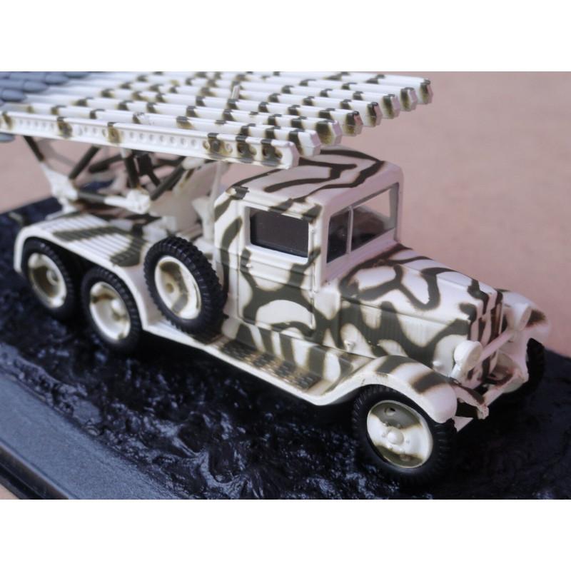 Miniatura Caminhão ZIS 6 BM 13 Katyusha Blindados de Combate