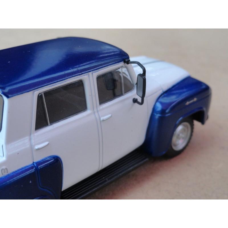 Miniatura Chevrolet Collection Alvorada 1962 Brasil 1/43