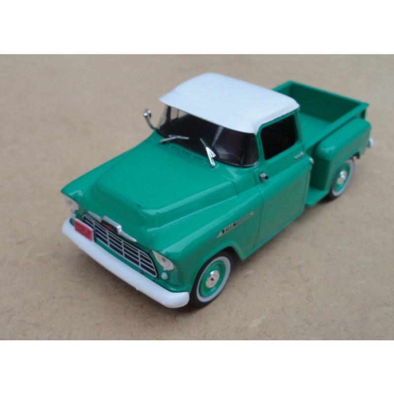 Miniatura Chevrolet Collection Marta Rocha 1956 Pick Up 1/43
