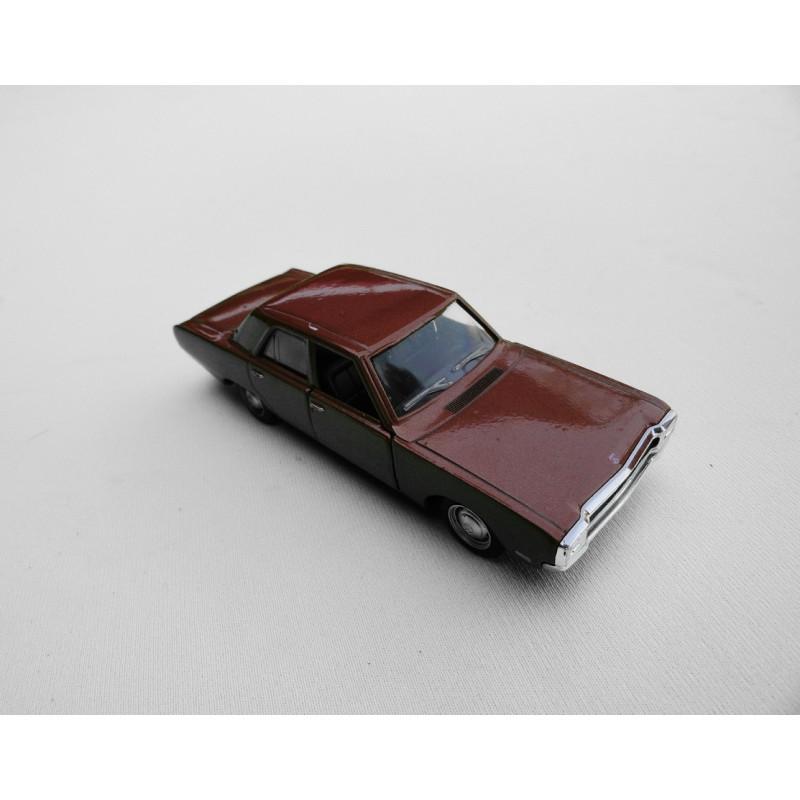 Miniatura Dodge Dart Coleção História dos Carros Brasileiros Cobre