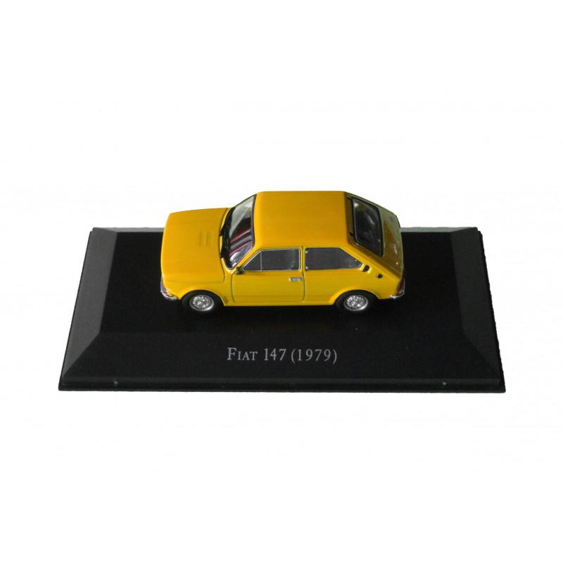 Miniatura Fiat 147 1979 Carros Inesquecíveis do Brasil Nova