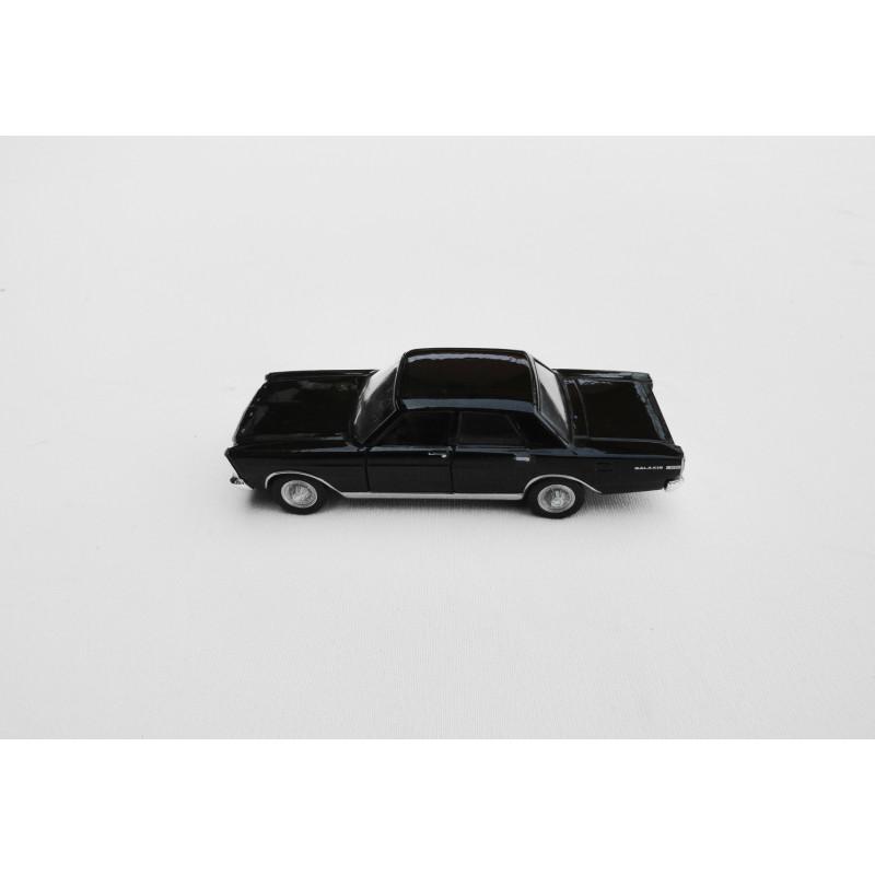 Miniatura Ford Galaxie Coleção História dos Carros Brasileiros Preto