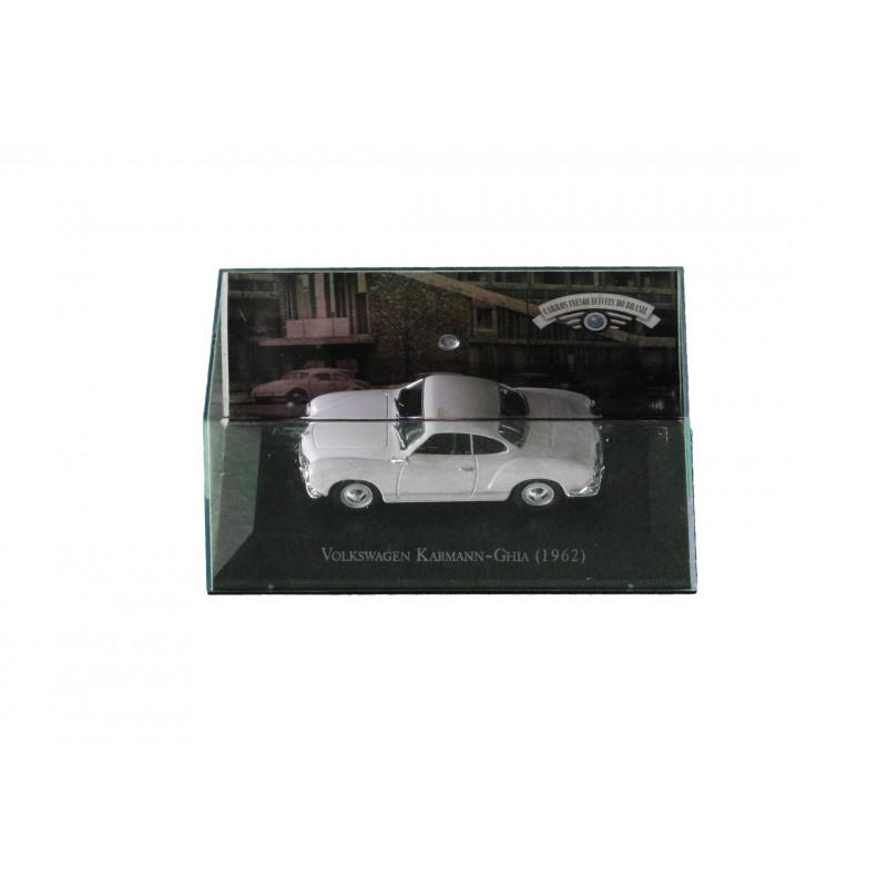 Miniatura Karmann Ghia 1962 Carros Inesquecíveis do Brasil Nova