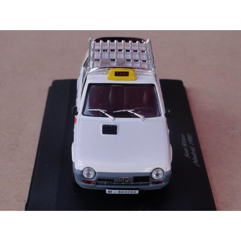 Miniatura Seat Ritmo 1980 Madri Táxis do Mundo 1/43