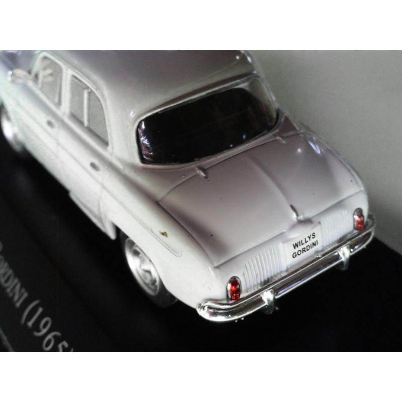 Miniatura Willys Gordini 1965 Carros Inesquecíveis do Brasil Nova