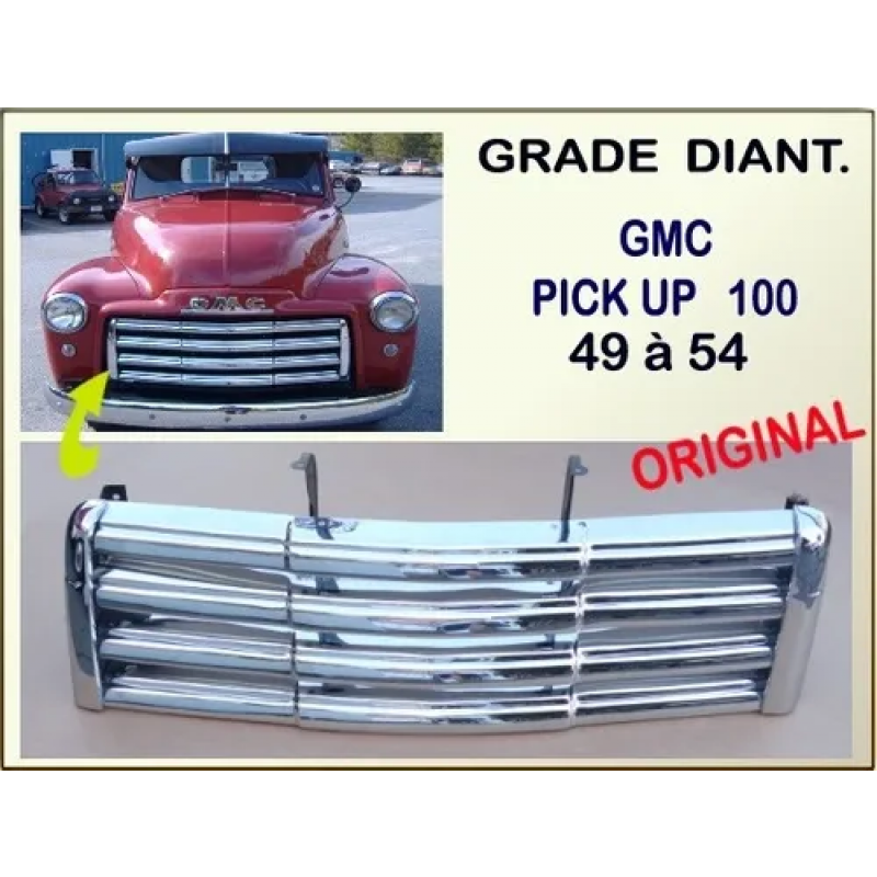 Grade Dianteira Gmc 100 1947 a 1955 Original Usada