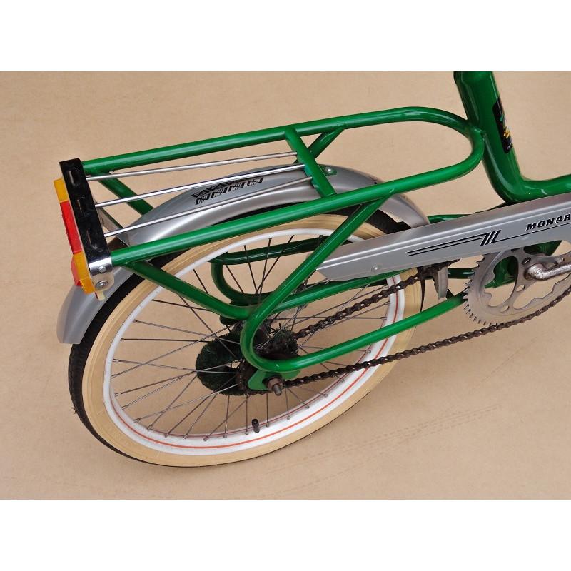 Bicicleta Antiga Monark Monareta 76 Aro 20 Verde Original Restaurada