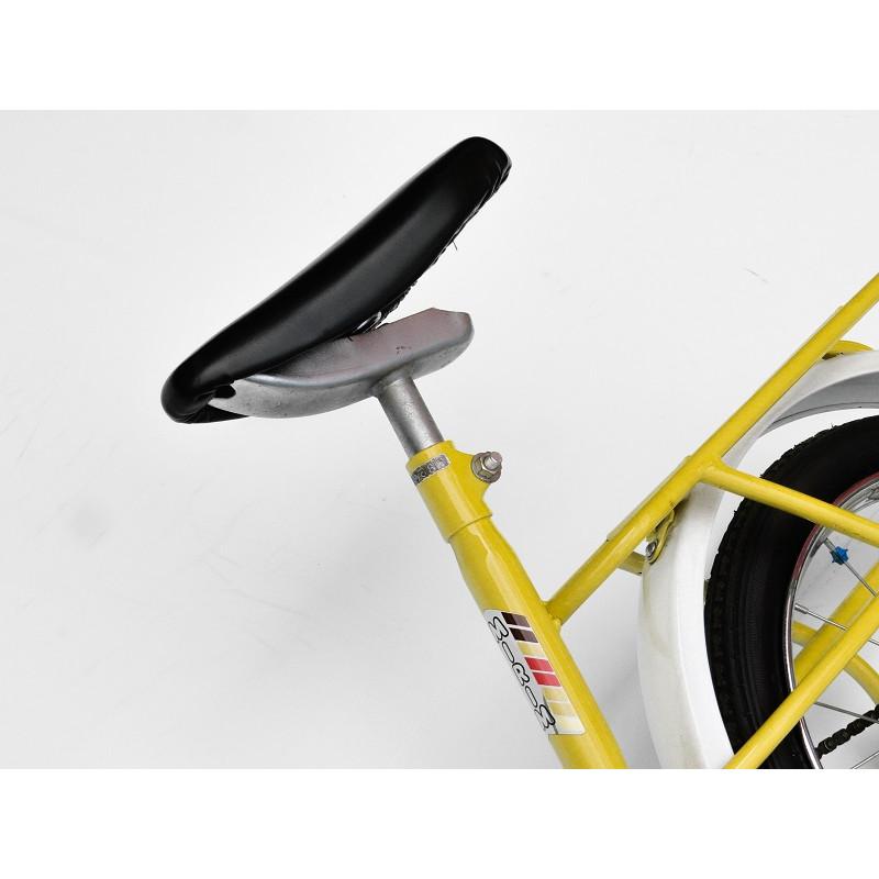 Bicicleta Antiga Mirim 82 Aro 14 Amarela Original Restaurada