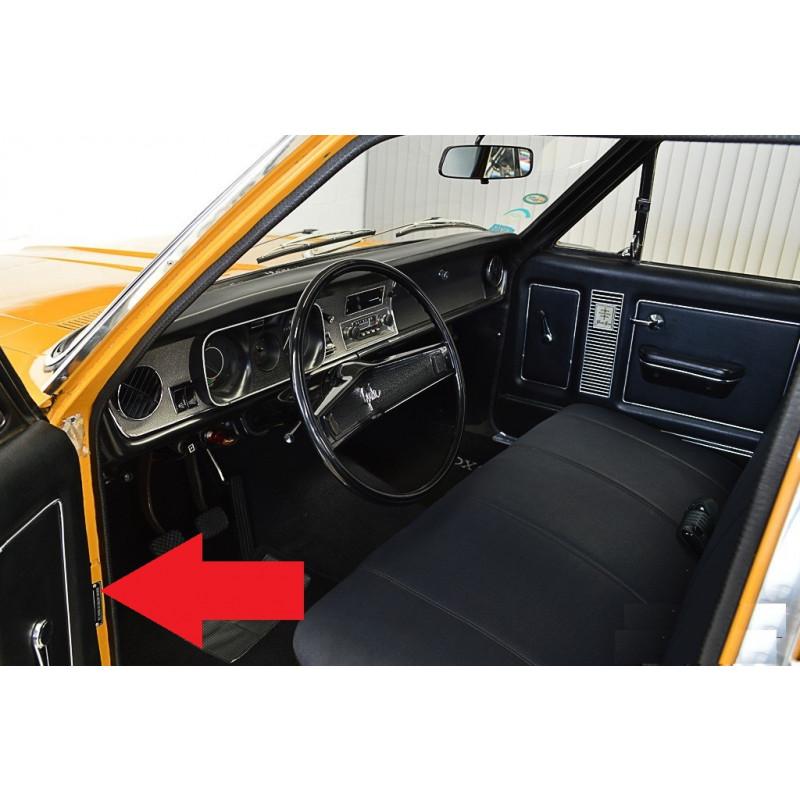 Plaqueta de Identificação Chassi Opala Chevette Monza Com Gravação em Alto Relevo