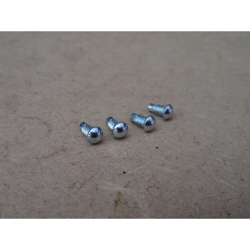 Rebite Fixação Plaqueta Identificação Chassis Motor - Jogo