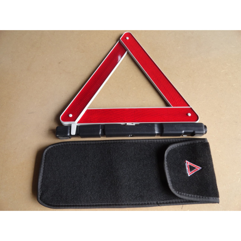 Triângulo De Segurança Luxo Pesado Com Capa