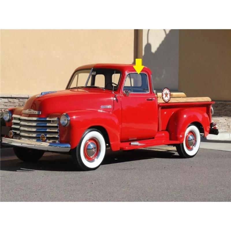 Vidro da Porta Incolor Chevrolet 1951 a 1955 GMC Sapo Bagre